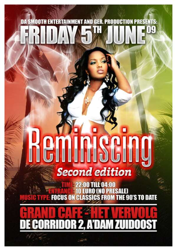 Da Smooth Entertainment Presents Friday 5th June 2009 Reminiscing
