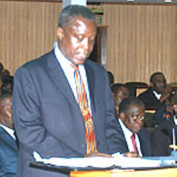 Mr Kwadwo Baah-Wiredu, Finance & Economic Planning Minister