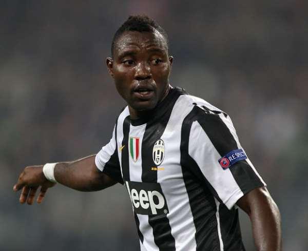 Kwadwo Asamoah in action for Juventus