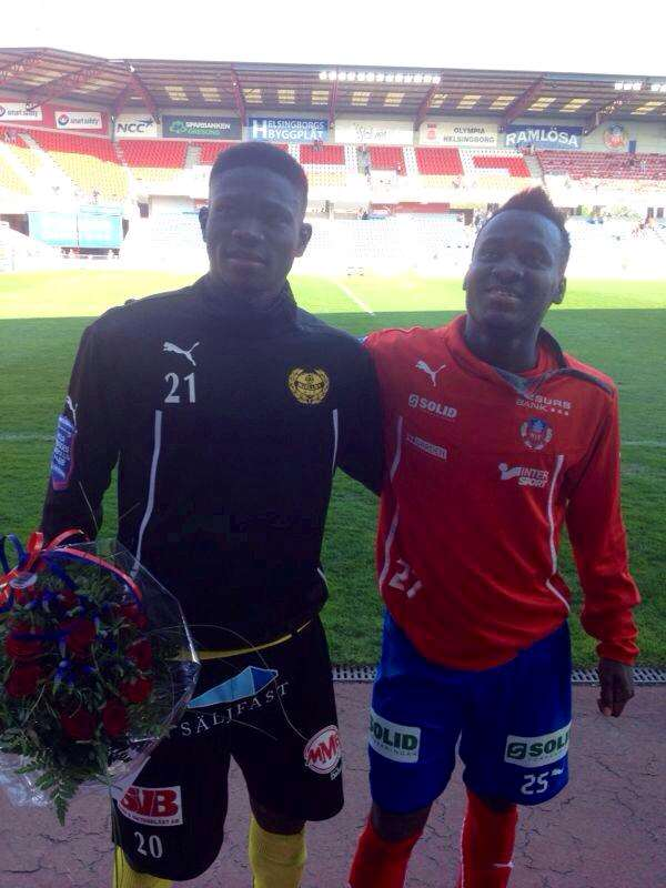 Ghanaian midfielder Kwame Bonsu wins Man-of-the-match award in Sweden