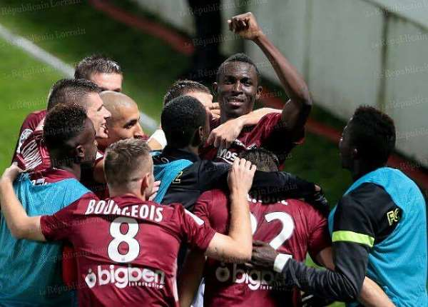 Kwame Nsor joy as Metz secure French Ligue 1 promotion ticket
