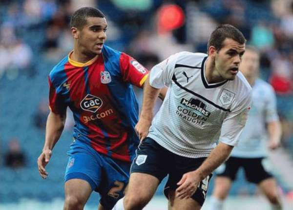 Kwesi Appiah saw some playing minutes for Crystal Palace