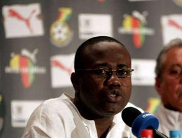 Ghanaian Football Association President Kwesi Nyantakyi