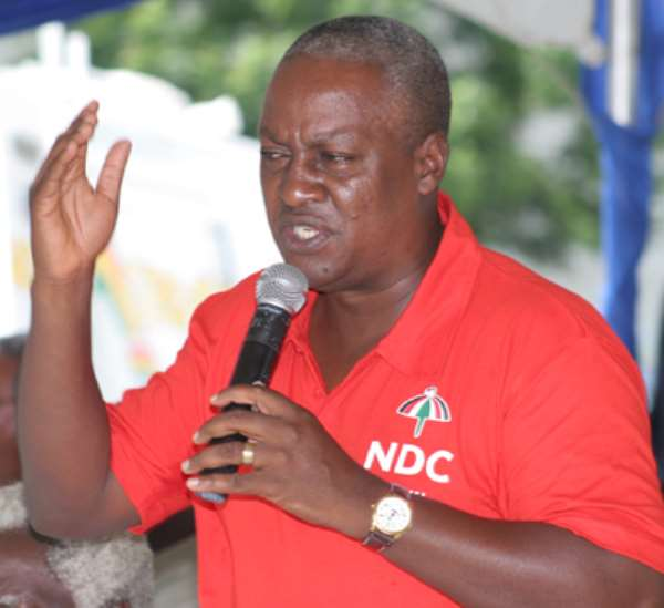 """Prez Mahama Is A """"Frustrated"""" Being...He Lacks """"Communication Intelligence"""""""