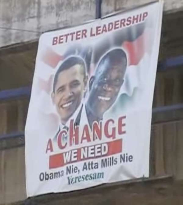 Obama for NDC, Romney, etal for NPP, therefore …
