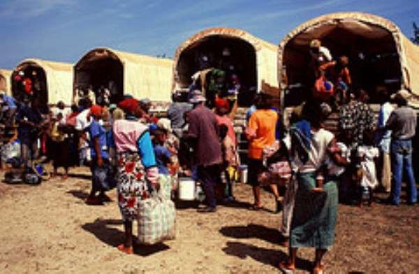 Second Batch Of Liberian Refugees Return Home