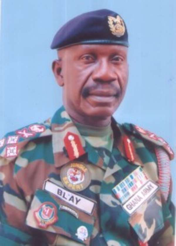 Lieutenant General Peter Augustine Blay, Chief of the Defence Staff