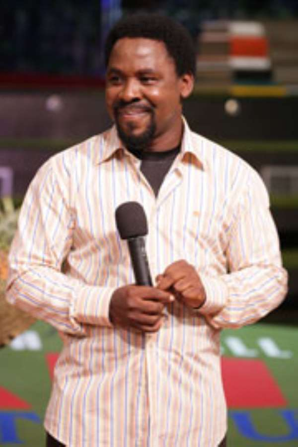 A FIRST TIMER'S ACCOUNT OF PROPHET T.B. JOSHUA