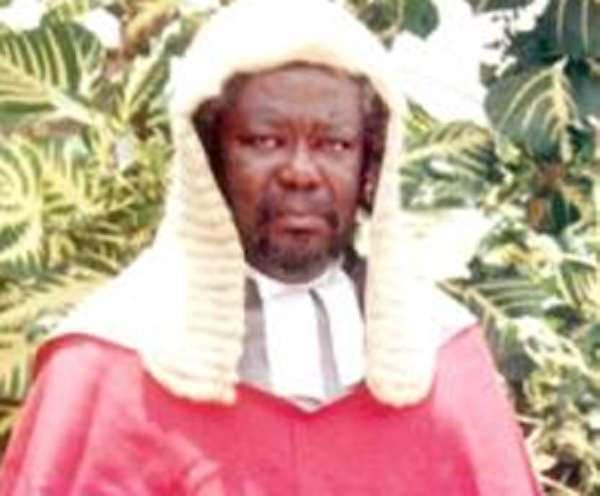 Justice Kpegah Cannot Help Himself