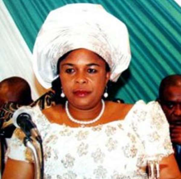 MOST HILLARIOUS GRAMMATICAL ERRORS MADE BY DAME PATIENCE JONATHAN