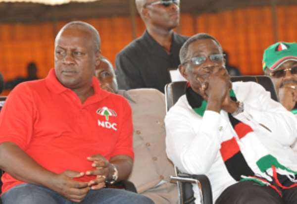 Late President Mills attempts to investigate John Dramani Mahama led to his untimely demise.