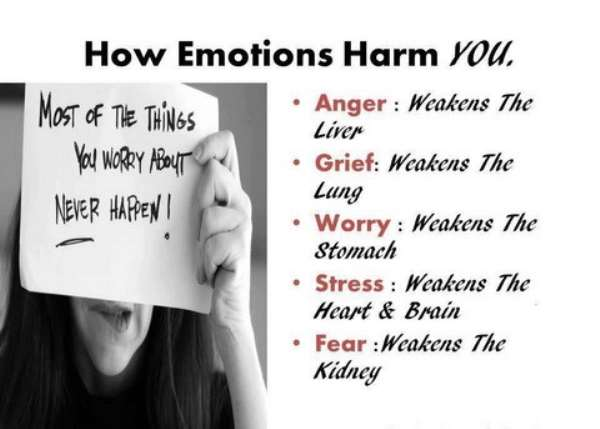 How emotions harm you
