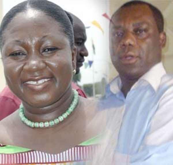 Patricia Appiagyei - Asokwa and Dr Matthew Opoku Prempeh - Manhyia
