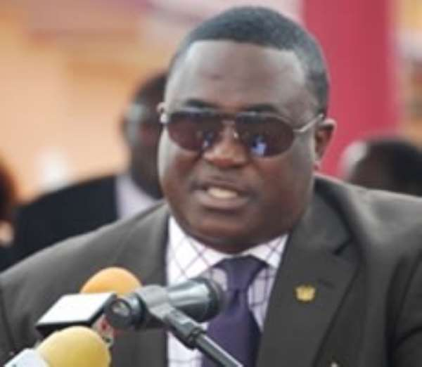 Greater Accra Regional Minister Nii Laryea Afotey-Agbo