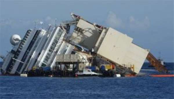 Costa Concordia salvage operation begins