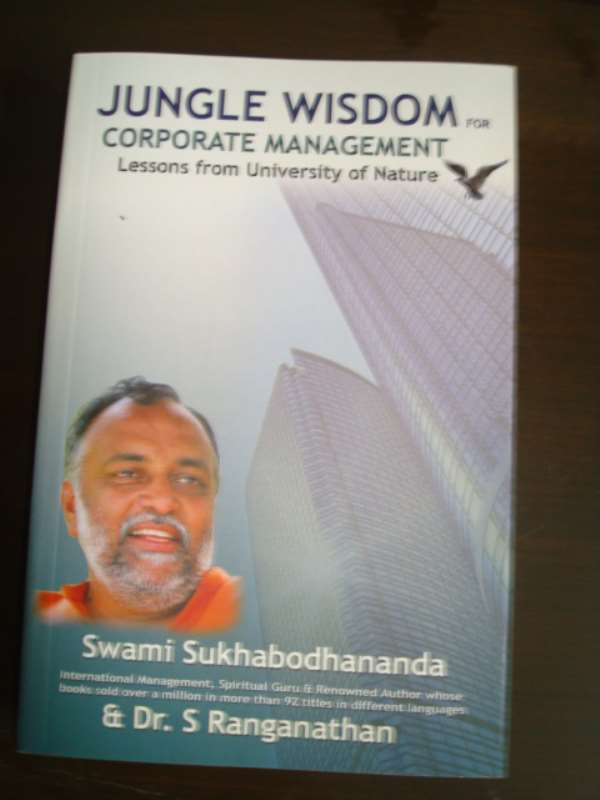 The management book - jungle wisdom for corporate management has lot to offer to the corporate in toto....