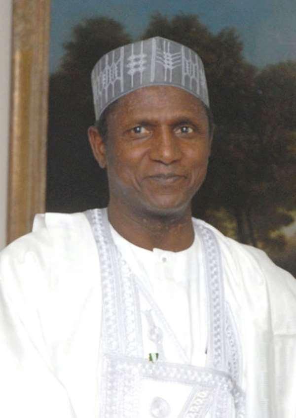 Nigerian President Umaru Yar Adua