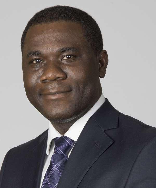 Managing Director of AngloGold Ashanti, Mr. Eric Asubonteng
