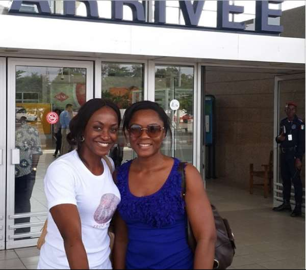 Photos Of Kate Henshaw And Chioma Akpotha Without Make Up