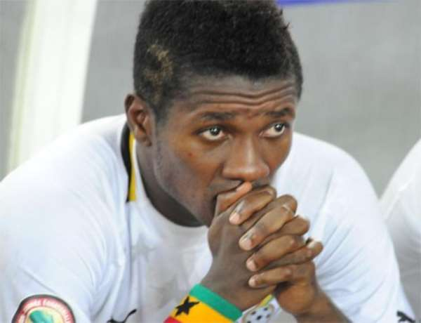Journalist Asks If Asamoah Gyan Used Castro For Rituals...