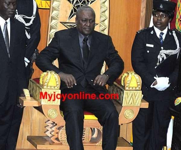 Live Update: Mahama addresses Ghanaians