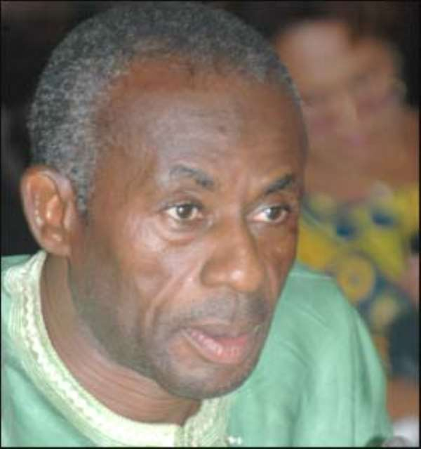 Collins Dauda, Minister of  Lands and Natural Resources