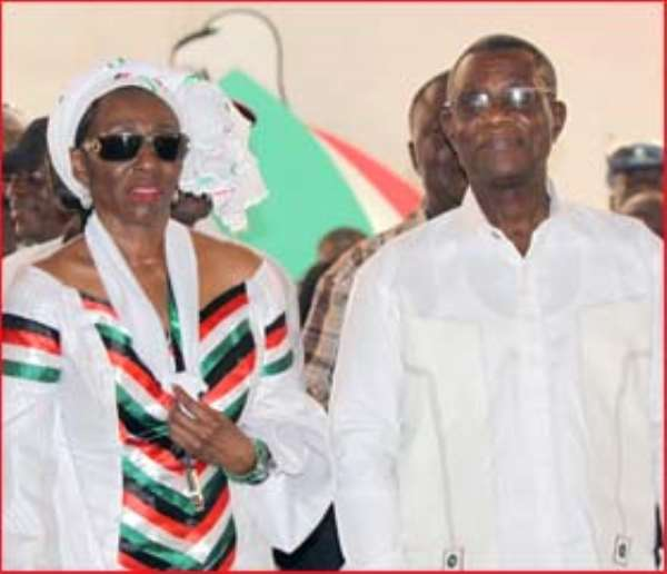 VOLTA YOUTH LEAGUE THROWS ITS WEIGHT BEHIND THE PRESIDENT