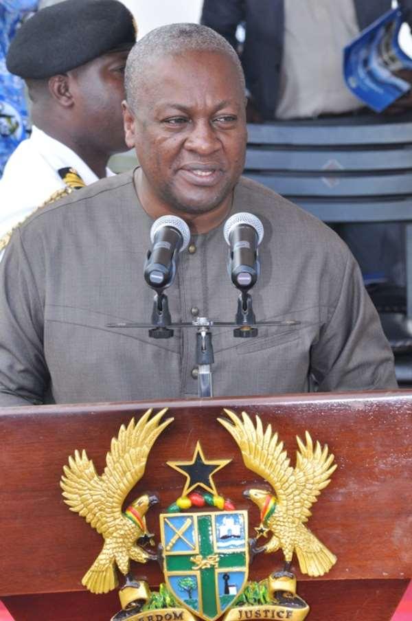 President Mahama proposes cooperation against international crisis
