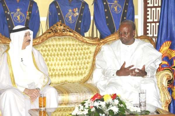 Let's collaborate to resolve Egypt,  Tunisia crisis —Prez  Mahama