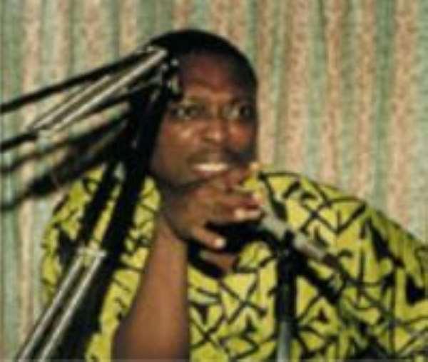 Abdul Malik Kweku Baako, Editor-in-Chief of the New Crusading Guide Newspaper.