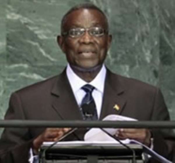 President Atta Mills, however, says he would not rush into reshuffling his ministers