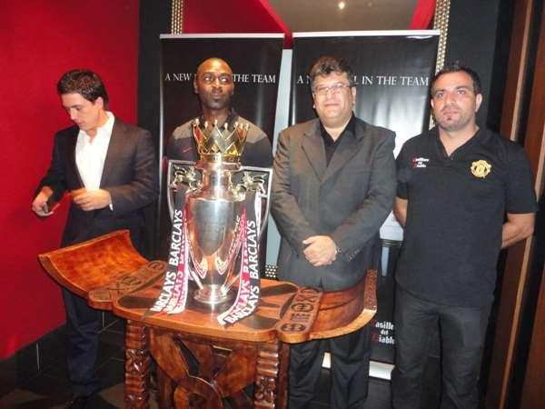 Manchester United showcase English Premier League Trophy in Ghana