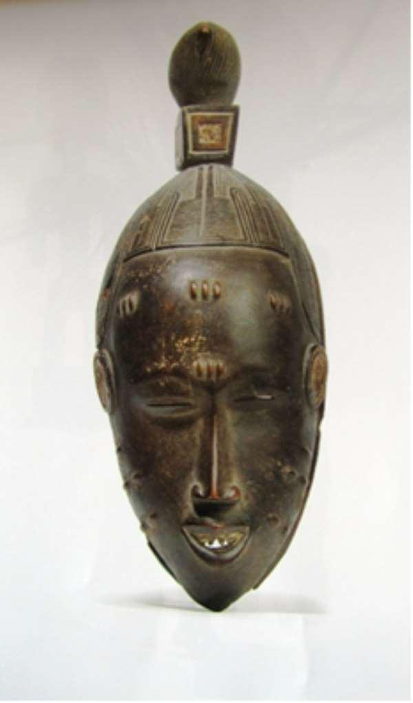 Mask. Guro. Côte d'Ivoire