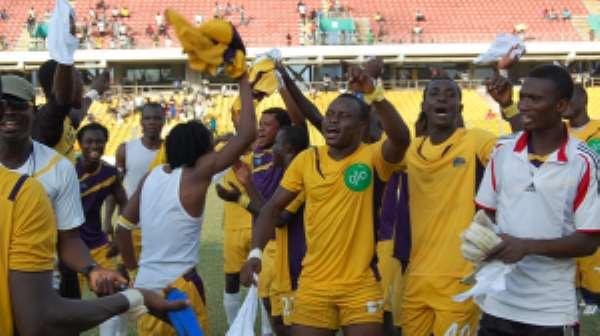 Medeama are through to the Confederation Cup play-offs