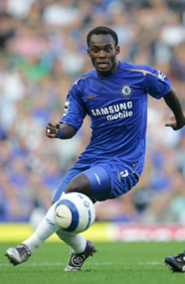 CHELSEA WANT ESSIEN CONTRACT EXTENSION