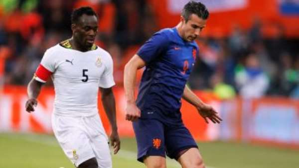 2014 World Cup: Ex-Ghana youth star Issaka hits out at Ghana vice captain Essien for turning his back to the pitch during Holland friendly
