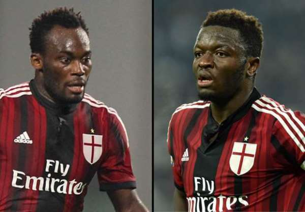 Absent: AC Milan record away win without Ghanaian duo
