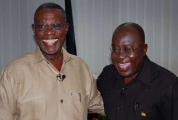 President Mills and Nana Addo