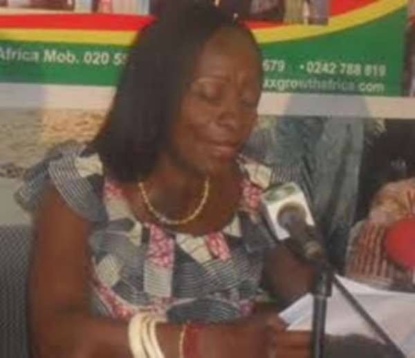 Minister for Environment, Science and Technology, Hon. Sherry Ayittey