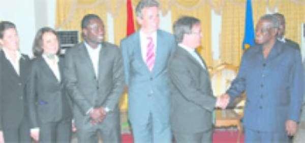 Prez Lauds Ghana, German Partnership