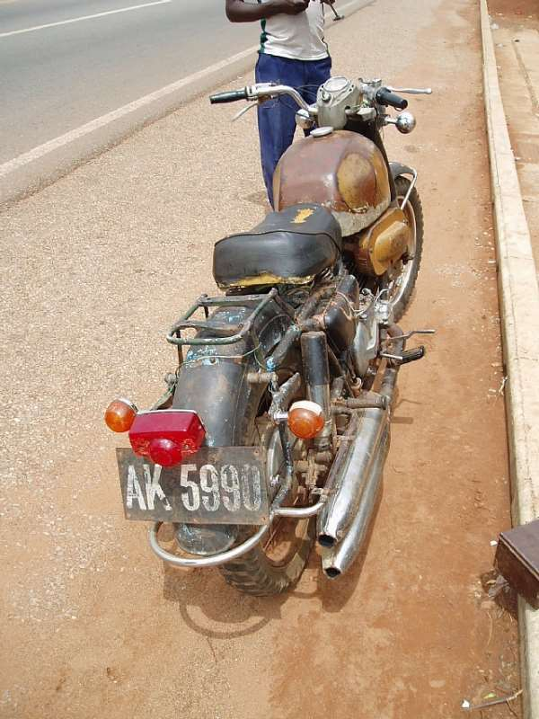 Are Motor Cycle Drivers Above The Law?