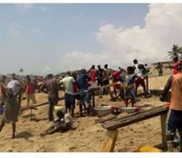 There are no Gold deposits at Elmina - GSD