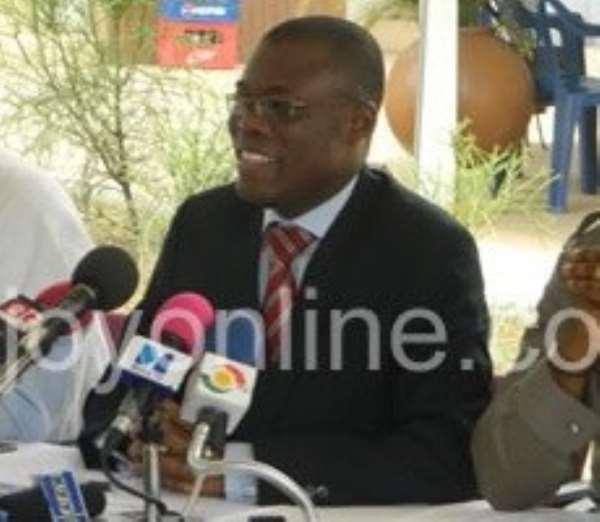 Deputy Finance Minister Fifi Kwetey