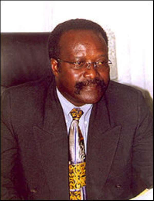 Kwesi Ahwoi - Minister of Agric