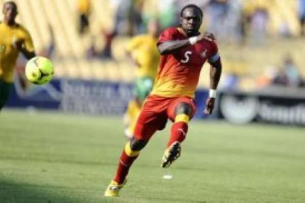 John Mensah - Black Stars captain