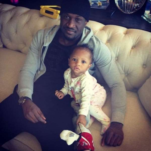 Peter Okoye's Daughter Clocks One