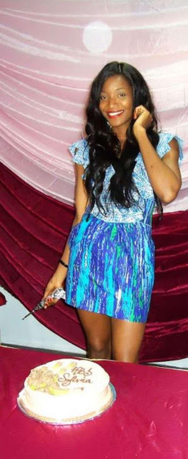 2011 MOST BEAUTIFUL GIRL IN NIGERIA,SYLVIA NDUKA MARKS BIRTHDAY