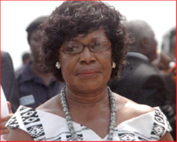 Ama Benyiwa Doe and her nauseatingly shrill lying voice