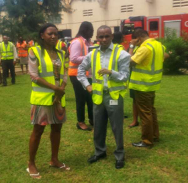 NADMO Holds Simulation Exercise At Guinness