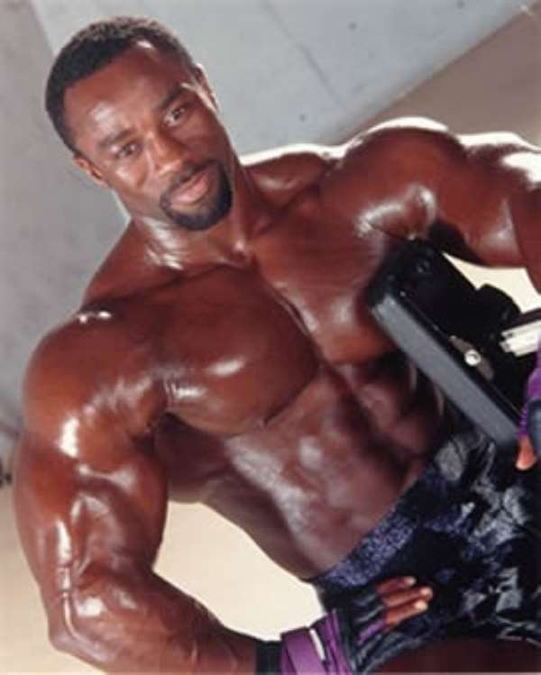 Canadian Bodybuilding Legend Freddy Antwi wants to help the industry in Ghana